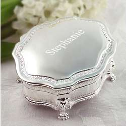 Engraved Princess Jewelry Box