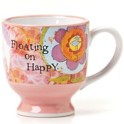 Floating on Happy Mug