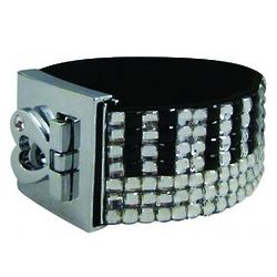 Crystal Keyboard Bracelet