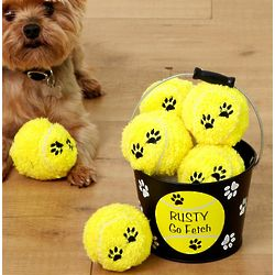 Personalized Go Fetch Pet Bucket
