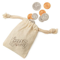 Seed Money Bag of Coins