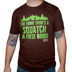 Finding Bigfoot Glow in the Dark T-Shirt