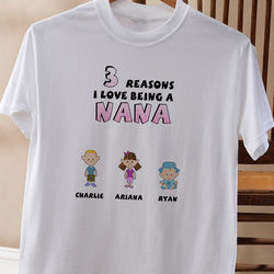 Her Reasons Why Personalized Adult T-Shirt