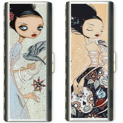 Alternative Art Metal Tampon Case