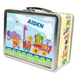 Alphabet Train Chalkboard Lunch Box