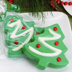 Christmas Tree Chocolate Covered Oreo Cookies