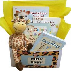 Busy Baby Books Gift Box