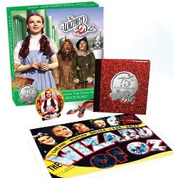 The Wizard of Oz Plate, Poster, Book, and Necklace set
