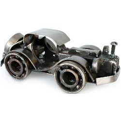 Rustic Classic Car Recycled Vintage Sculpture