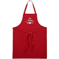 Seasoned with Love Apron Personalized Red Apron