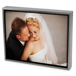 Custom Color Photo Canvas Art Print with Float Picture Frame