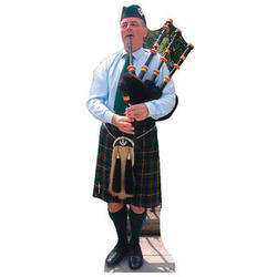Bagpiper Standee