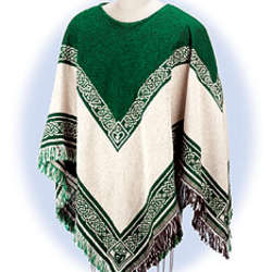 Reversible Celtic Poncho