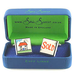 House Sold Cufflinks