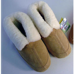 Women's Lambskin and Wool Slippers