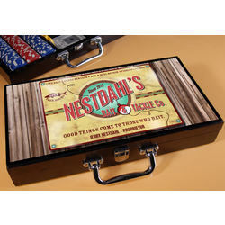 Personalized Poker Set with Bait Company Image