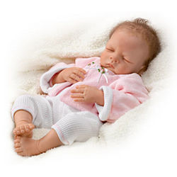Sweet Dreams Bella Realistic Baby Doll