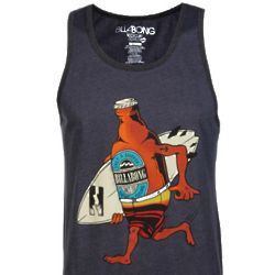 BYOB Recycler Series Tank Top in Indigo Heather