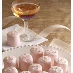 Pink Champagne Cake O's