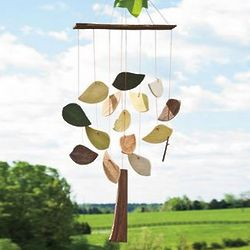 Handcrafted Ceramic Tree Wind Chime