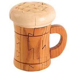 Three Dimensional Beer Mug Puzzle