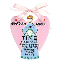Guardian Angel of Time Ornament