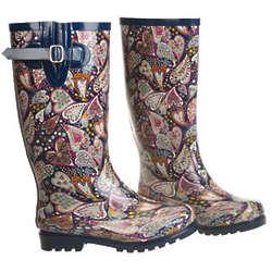 Paisley Hearts Boots