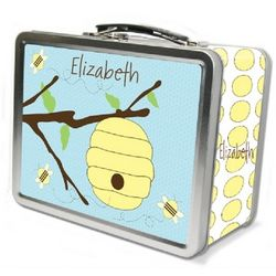 Busy Bee Chalkboard Lunch Box
