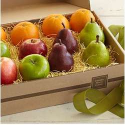Simply Fresh Fruit Gift Box with Personalized Ribbon