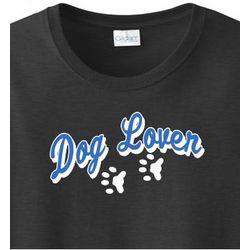 Paw Print Dog Lover T-Shirt