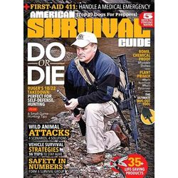 American Survival Guide Magazine - 9 Issues Seasonally