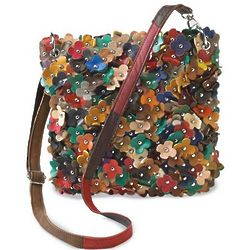 Field Of Flowers Crossbody Bag