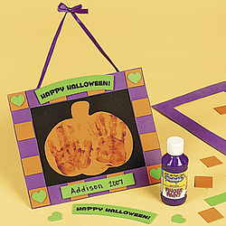 Foam Handprint Halloween Hanging Craft Kit