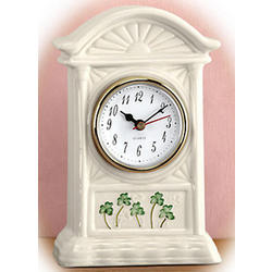 Parian China Mantel Clock