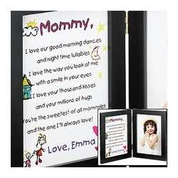 Mommy Keepsake Frame and Print