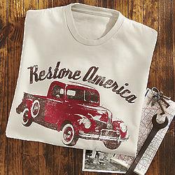 Restore America Vintage TruckTee