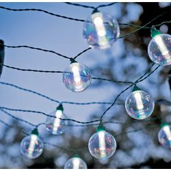 Globe Solar String Lights