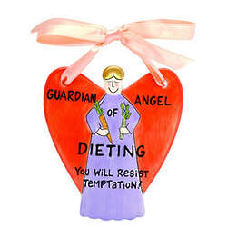 Guardian Angel of Dieting Ornament