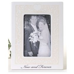 Now and Forever Wedding Frame
