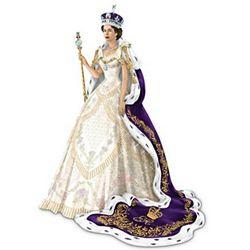 Coronation Of Queen Elizabeth II Figurine