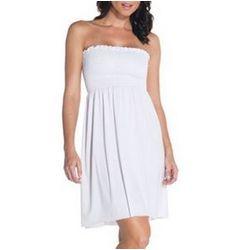Ladies Cotton Tube Top Dress