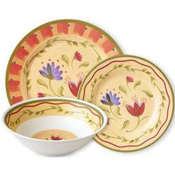 Napoli 12-Piece Melamine Dinnerware Set
