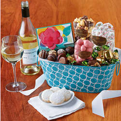 Thank You Sweets and Wine Gift Tin for Mom