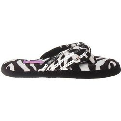 Girl's Sequin Flip Flop Slippers