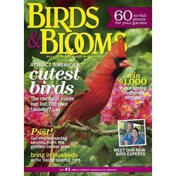 Birds & Blooms Magazine - 4 Issues Seasonally