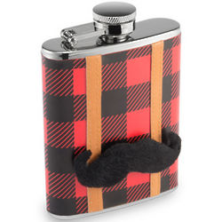 Lumberjack Hip(ster) Flask
