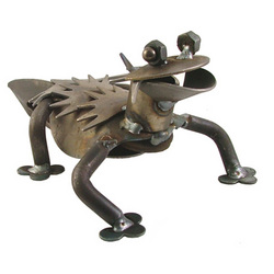 Horney Toad Desk Critter