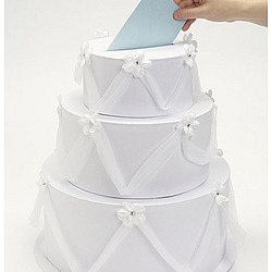 Wedding Cake Card Box