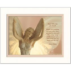 Friend or Family Personalized Poem Angel Print