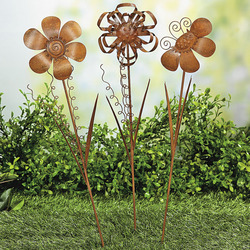 Rustic Flower Stakes